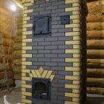 Банная печь из кирпича Лоде