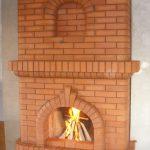 Печь 2-в-1: камин и Шведка