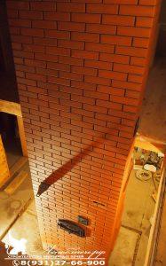 Строительство каминопечи с хлебной камерой на 2 этажа