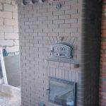 Каминопечь с варочной панелью и хлебной камерой