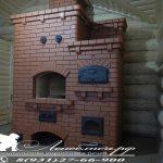Печной комплекс с мангалом и хлебной камерой
