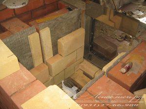 Строительство каминопечи