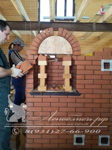 Строительство совмещенной печи