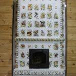 Изразцовая печь Лесная сказка